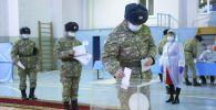 Голосование в воинских частях