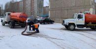 Десятки домов остались без воды в Павлодаре
