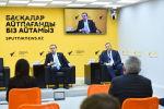 Онлайн-брифинг с участием наблюдателей от Межпарламентской ассамблеи СНГ в мультимедийном пресс-центре Sputnik Казахстан