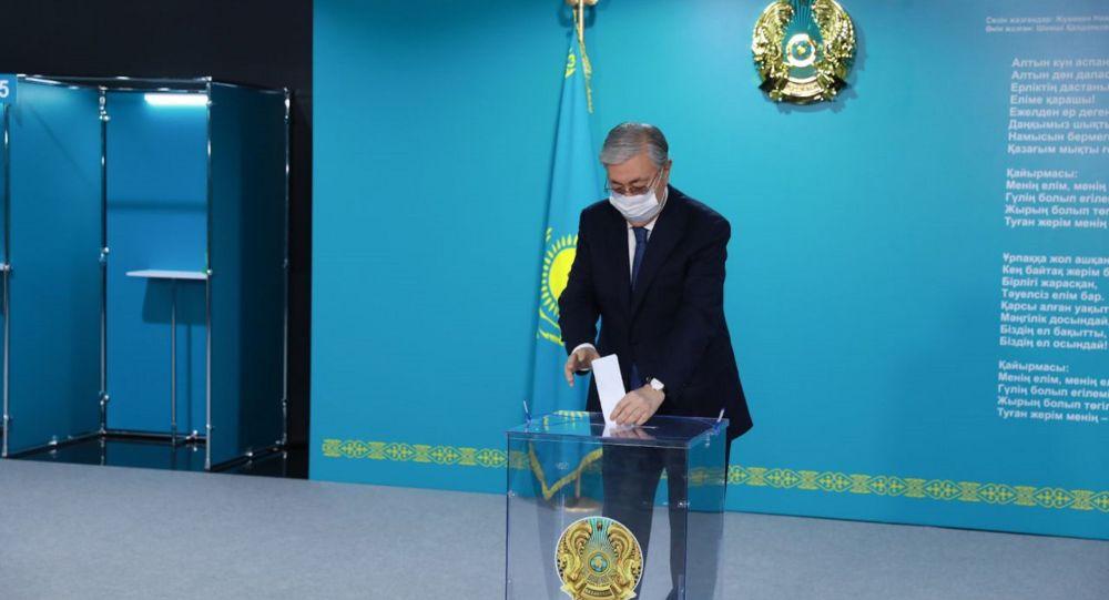 Президент Қасым-Жомарт Тоқаев Қазақстан халқы ассамблеясының депутаттарын сайлауға қатысты