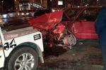 Массовая авария на перекрестке улиц Абая и Тлендиева