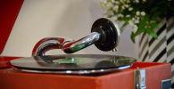 Граммофон в доме-музее Шафера