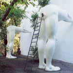 Скульптура Подхалимство в Праге