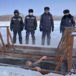 Крещенские купания в Петропавловске