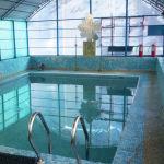Бассейн для крещенских купаний устроен во дворе церкви