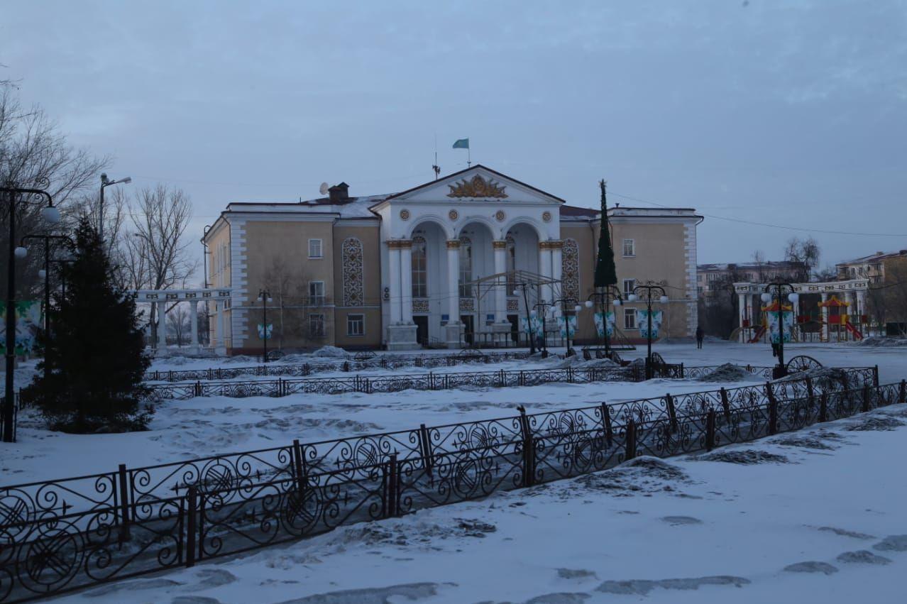 Дом культуры в города Сарани в Карагандинской области