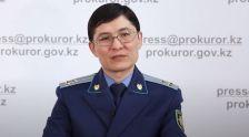 Начальник управления надзора за законностью в учреждениях пенитенциарной системы Генеральной прокуратурыАйбарИлияс