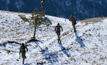 Бойцы элитного спецподразделения Чеченской Республики, архивное фото