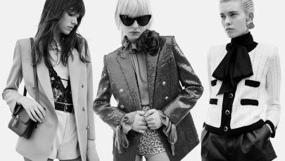 Одеться как парижанка: изучаем новые образы Saint Laurent