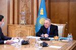 Первый президент Казахстана принял акима Нур-Султана Алтая Кульгинова