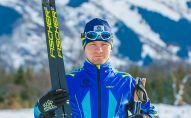 Лыжник Николай Чеботько