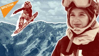 Как семилетняя сноубордистка покоряет горнолыжные трассы