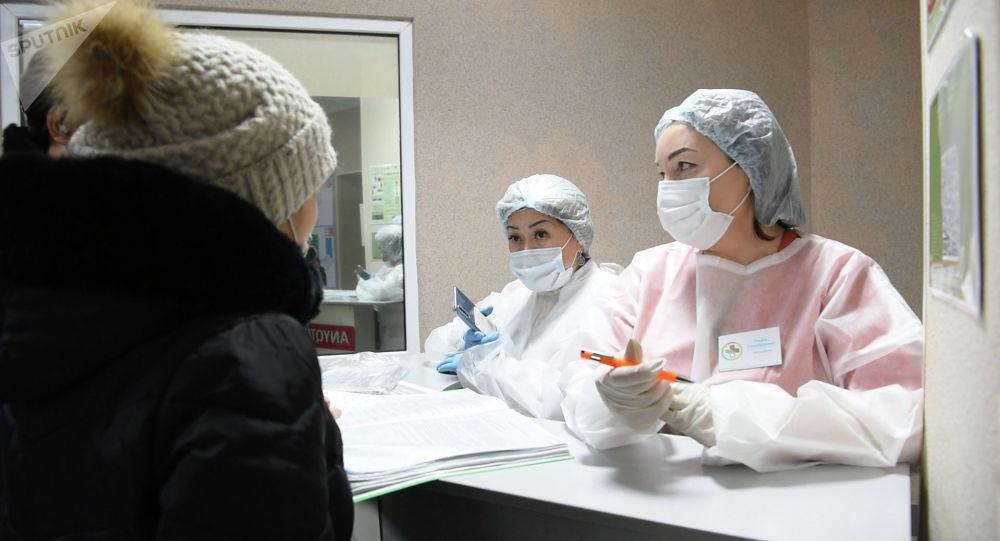 Медперсонал в поликлинике