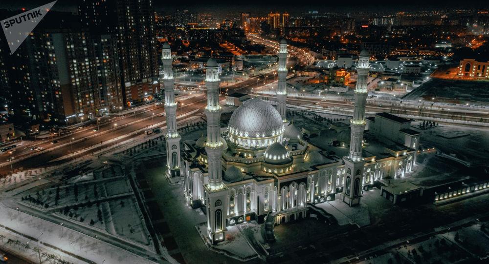 Мечеть Хазрет Султан, вид сверху