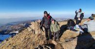 7-летний алматинец покоряет горные вершины