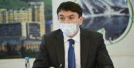 Глава Министерства экологии, геологии и природных ресурсов Магзум Мирзагалиев