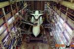 Буран №1 который был в космосе_МИК до обрушения кровли в 2002 г