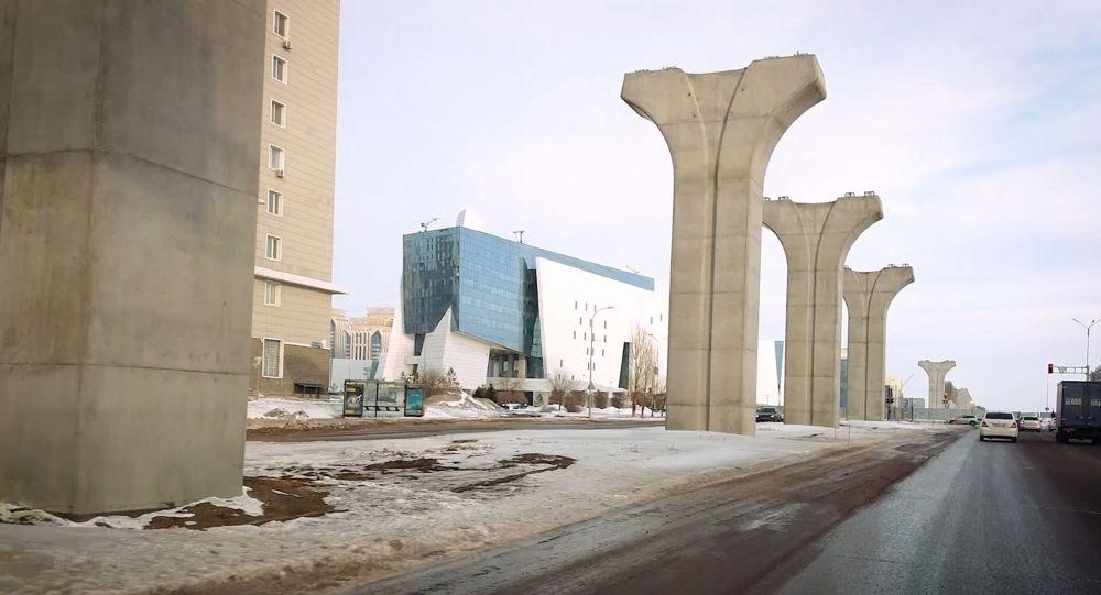 Опоры проекта Астана LRT