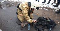 Пожарные спасли домашних питомцев