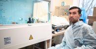 Один из создателей вакцины Спутник V кандидат биологических наук Ильяс Есмагамбетов