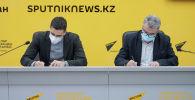 Подписание соглашения об информационном партнерстве между Sputnik Казахстан и футбольным клубом Астана