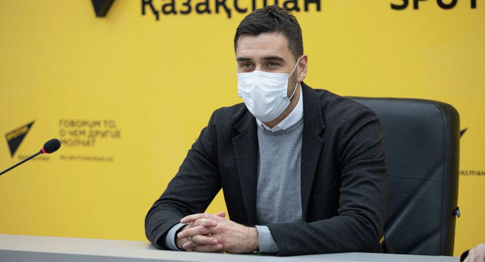 Исполнительный директор футбольного клуба Астана Давид Лория
