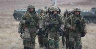 қазақстандық әскерилер
