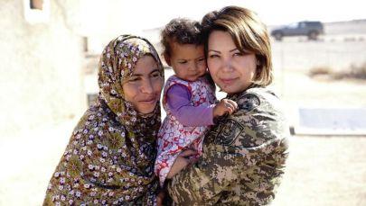 Қазақстандық әскери әйелдер де бітімгершілік күш құрамында арнайы гуманитарлық миссияны орындайды