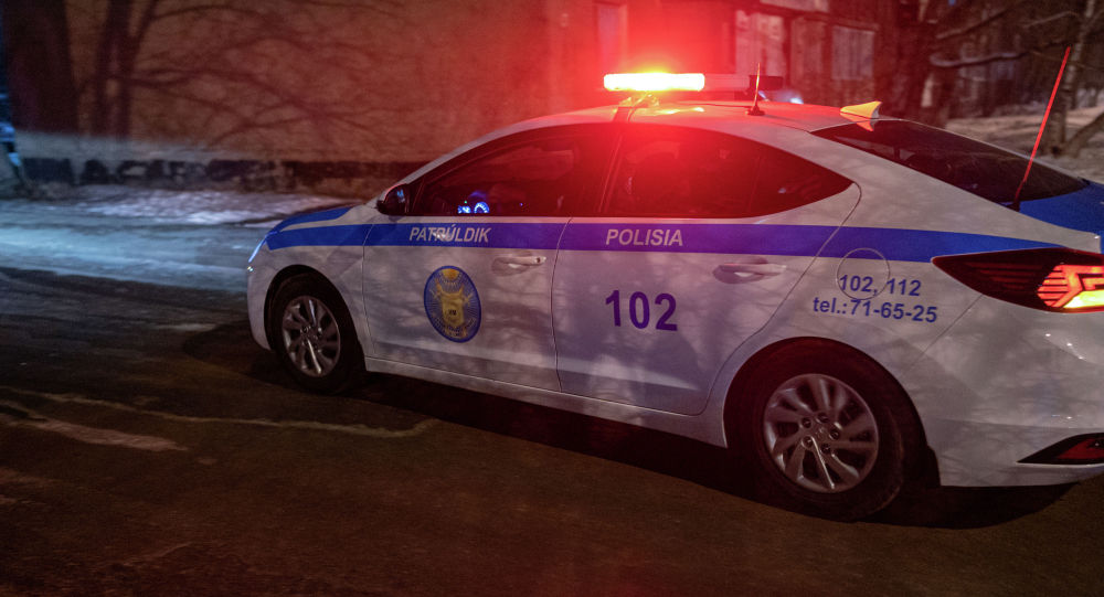 полиция көлігі