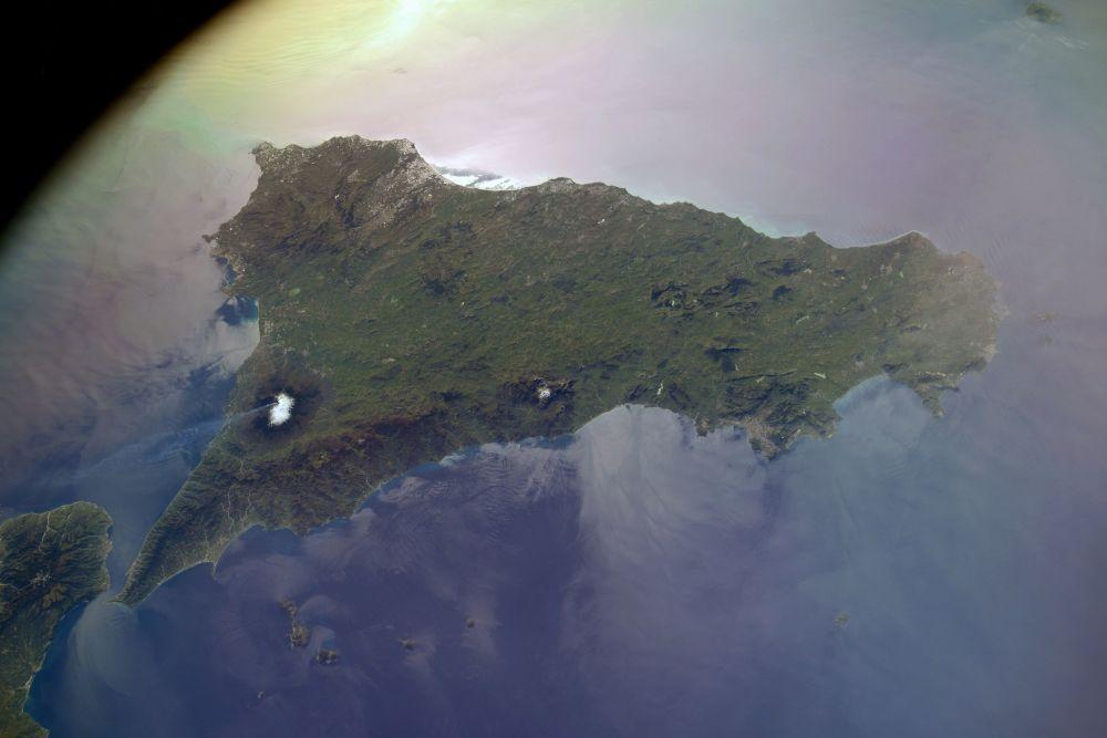 Сицилиядағы Этна жанартауы