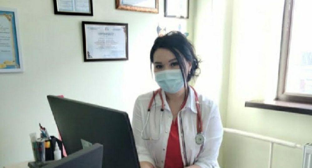 Заведующая отделением педиатрии Городской поликлиники № 36 Динара Кайпова