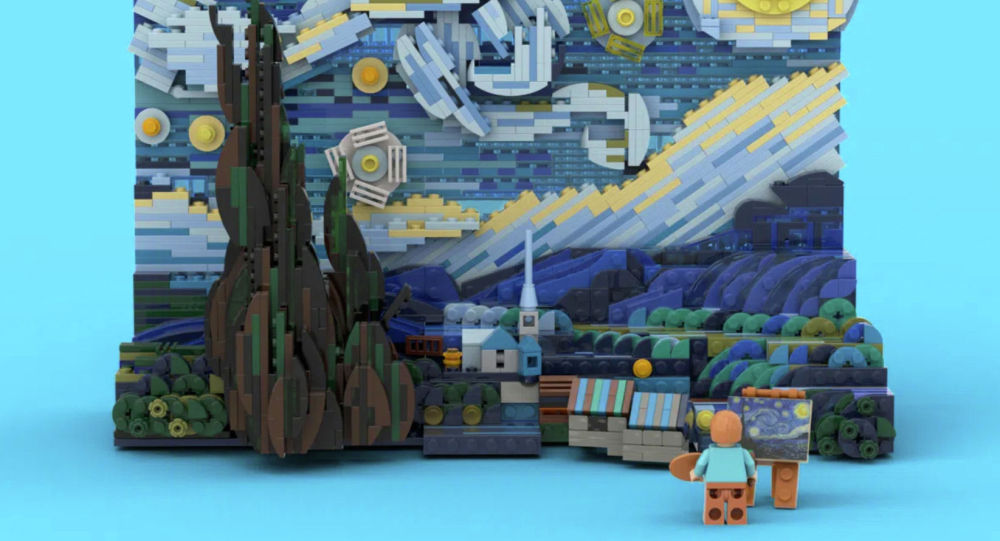 Lego и Ван Гог: сборная красота