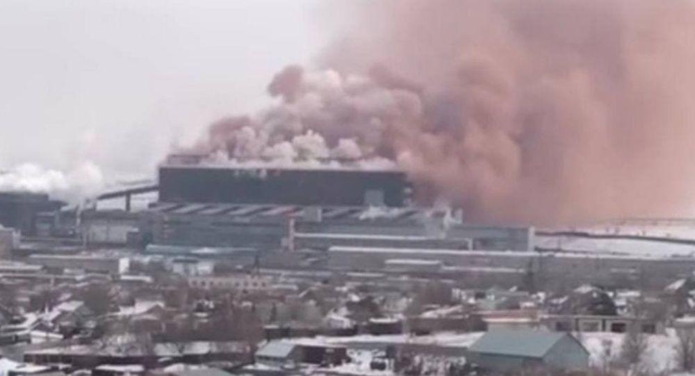 Выбросы АрселорМиттал Темиртау