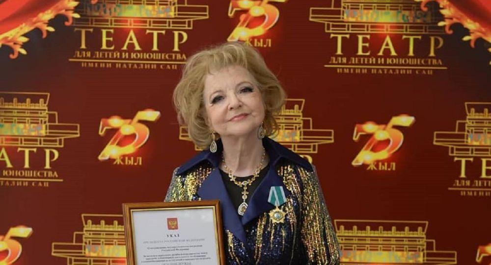 Заслуженная артистка Казахстана Татьяна Тарская