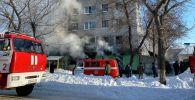 Взрыв газа произошел в пятиэтажном общежитии в Петропавловске