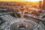 Монумент Астана Байтерек, зима