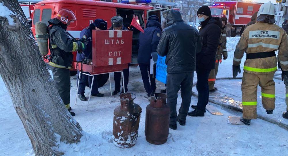 Пожарные обнаружили газовые баллоны в кафе и комнатах общежития