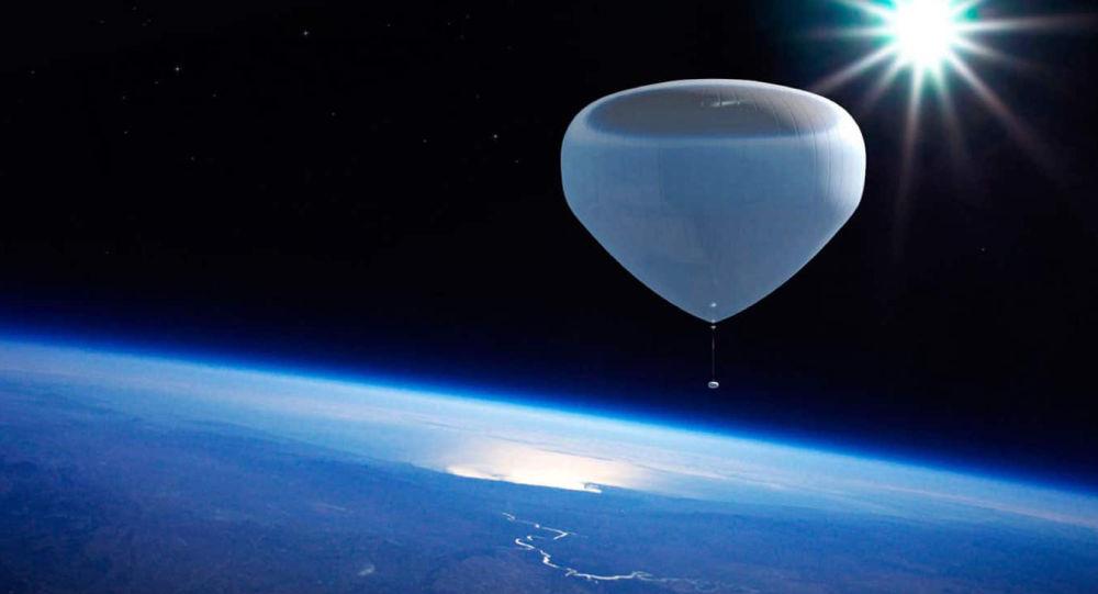 Летим в космос на воздушном шаре?