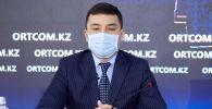 Заместитель председателя комитета по делам строительства и жилищно-коммунального хозяйства министерства индустрии и инфраструктурного развития Казахстана Еркебулан Дауылбаев
