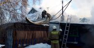 Пожар, в результате которого погиб Арыстанбек Машрап