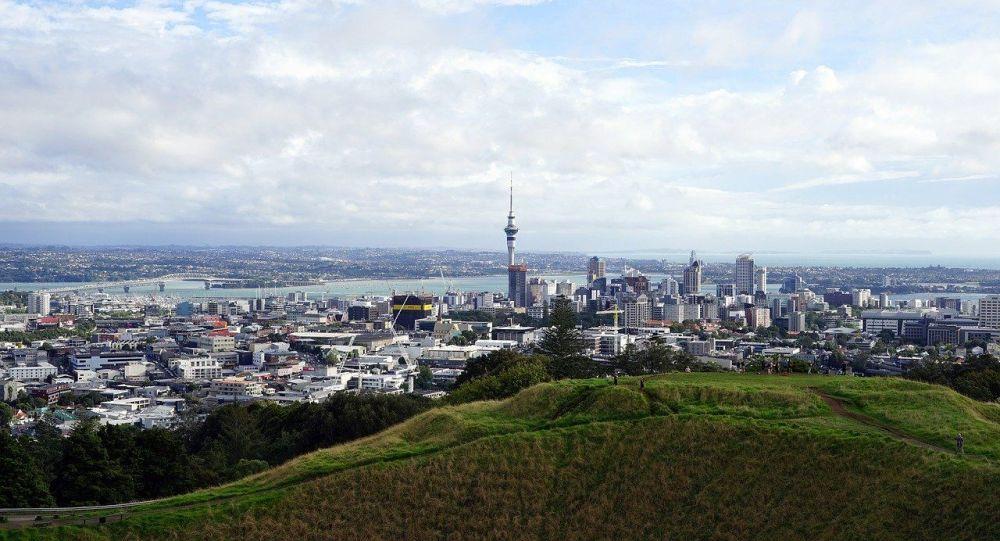 Город Окленд в Новой Зеландии