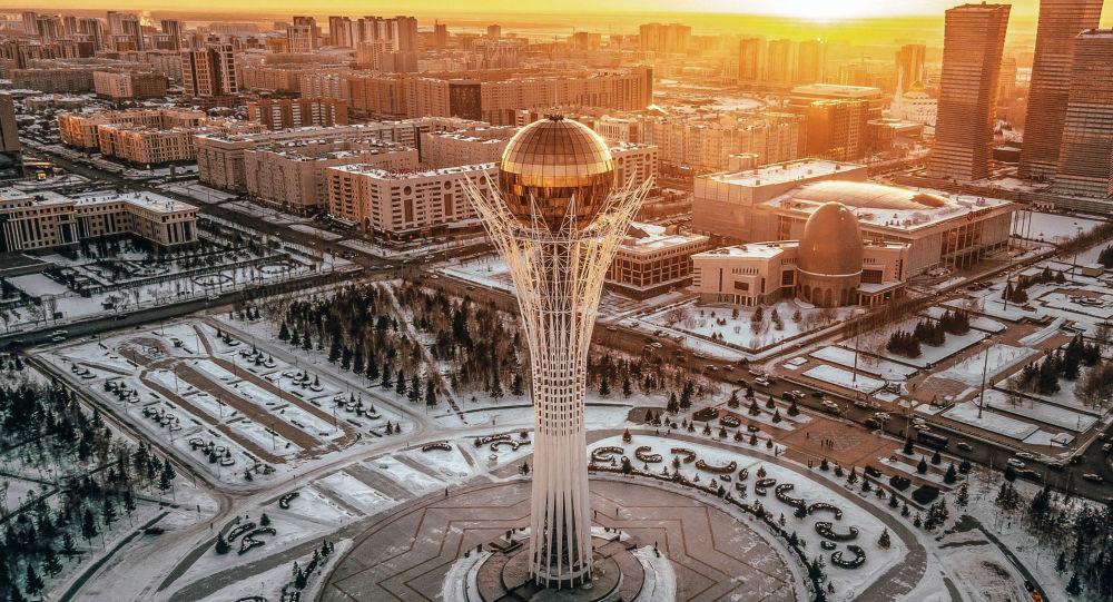 Астана  көрінісі, қыс