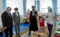 Дарига Назарбаева посетила детский реабилитационный центр в Таразе
