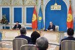 Қазақстан мен Қырғызстан президенттері бірлескен мәлімдеме жасады