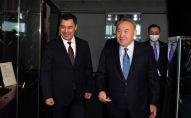 Нұрсұлтан Назарбаев пен Садыр Жапаров