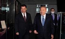 Нурсултан Назарбаев и Садыр Жапаров