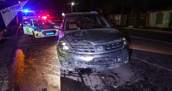 Массовая аварий из-за угнанного Ниссан Мурано