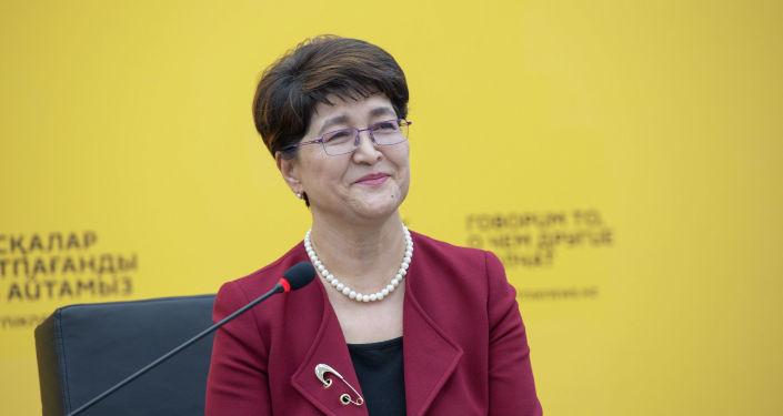 Майра Айсина, председатель оргкомитета Форума сельских женщин