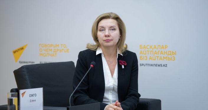 Директор общественного фонда Социальная динамика Елена Ожго