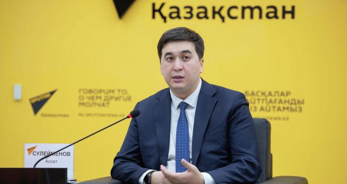 Исполнительный директор ОЮЛ Коалиция за зеленую экономику и развитие G-Global Асхат Сулейменов